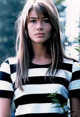 Francoise Hardy Striped Tee