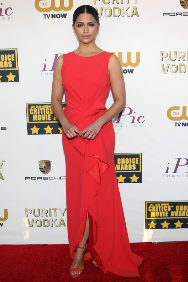 Camila Alves in Paule Ka - 2014 Critics' Choice Movie Awards