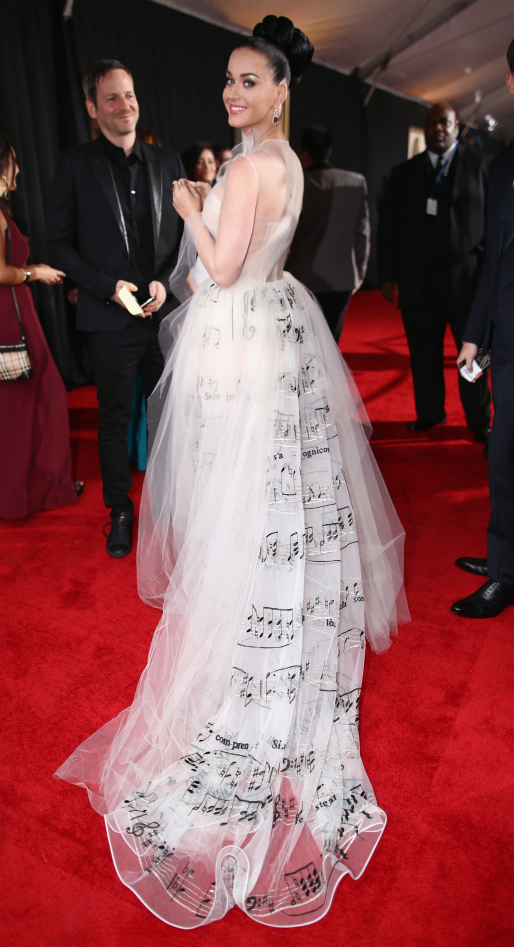 Katy Perry in Valentino Couture - 2014 Grammy Awards #GRAMMYs