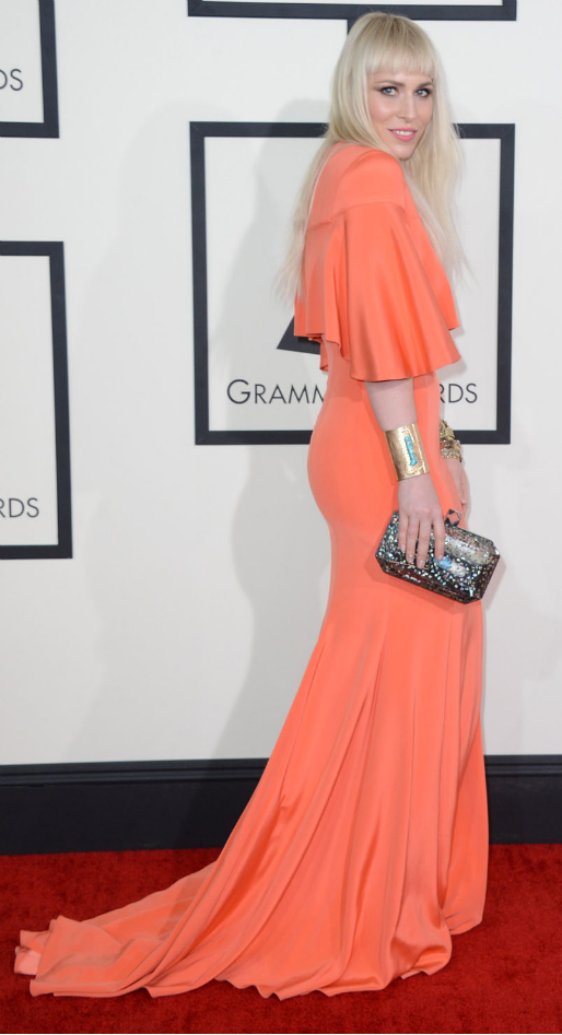 Natasha Bedingfield in Christian Siriano - Grammy Awards 2014