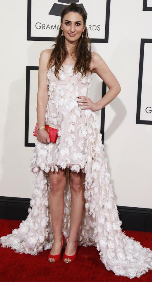 Sara Bareilles in Blumarine - 2014 Grammy Awards #GRAMMYs