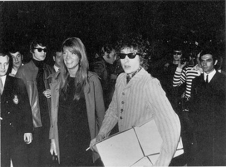 Francoise Hardy and Bob Dylan