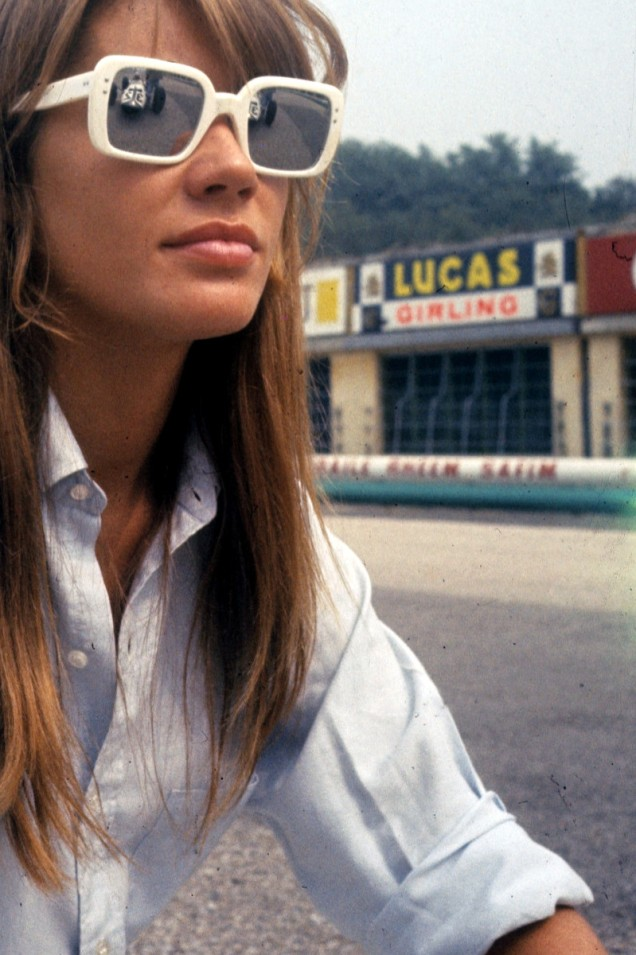 Francoise Hardy in White
