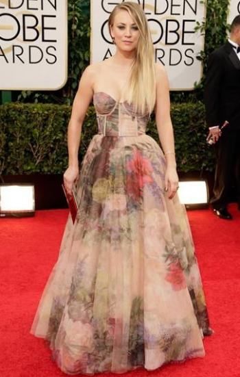Wild Souls Pick - Kaley Cuoco - Golden Globes