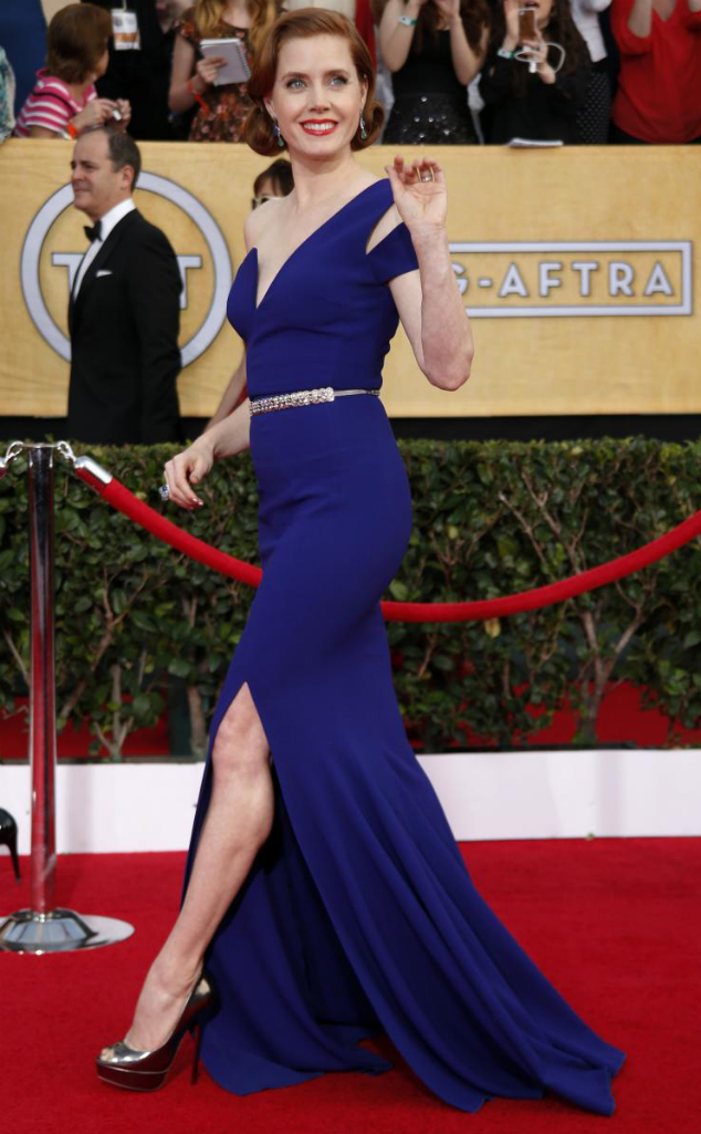 Amy Adams in Antonio Berardi - SAG Awards 2014