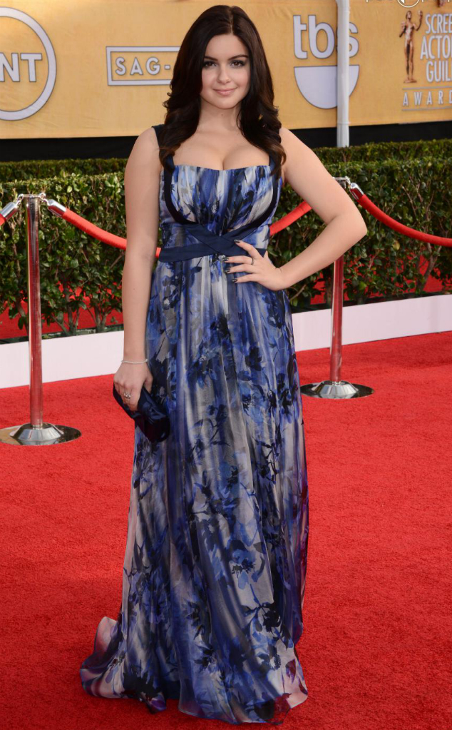 Ariel Winter in Badgley Mischka - SAG Awards 2014