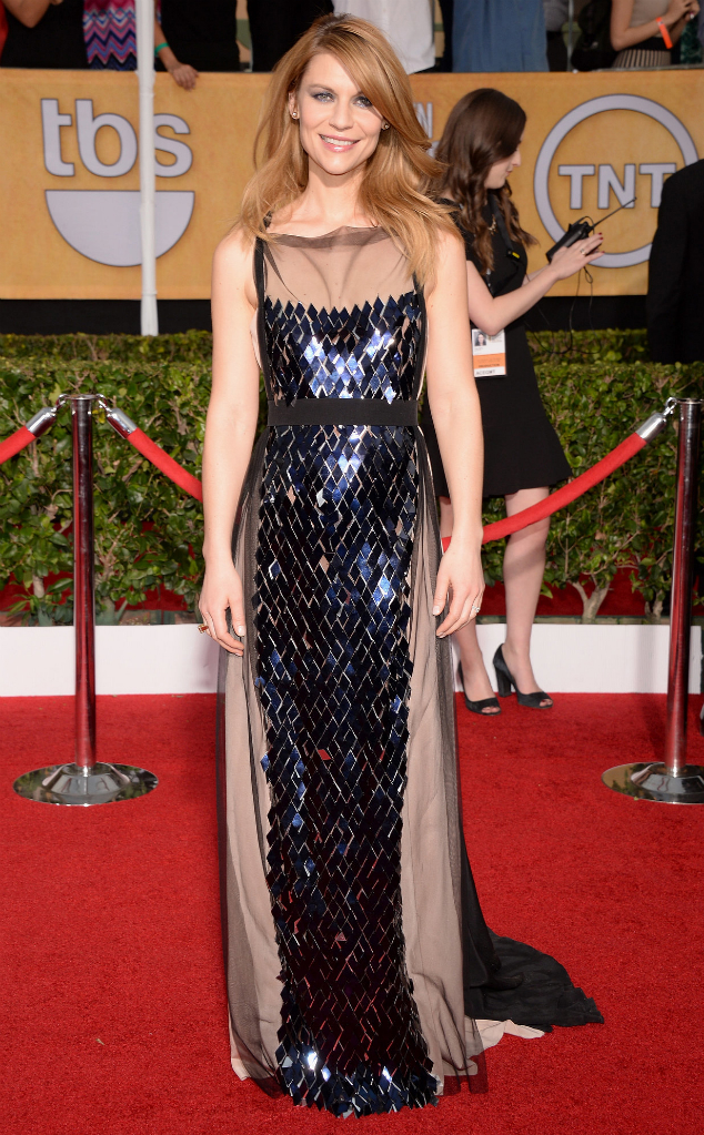 Claire Danes in Vionnet - SAG Awards 2014