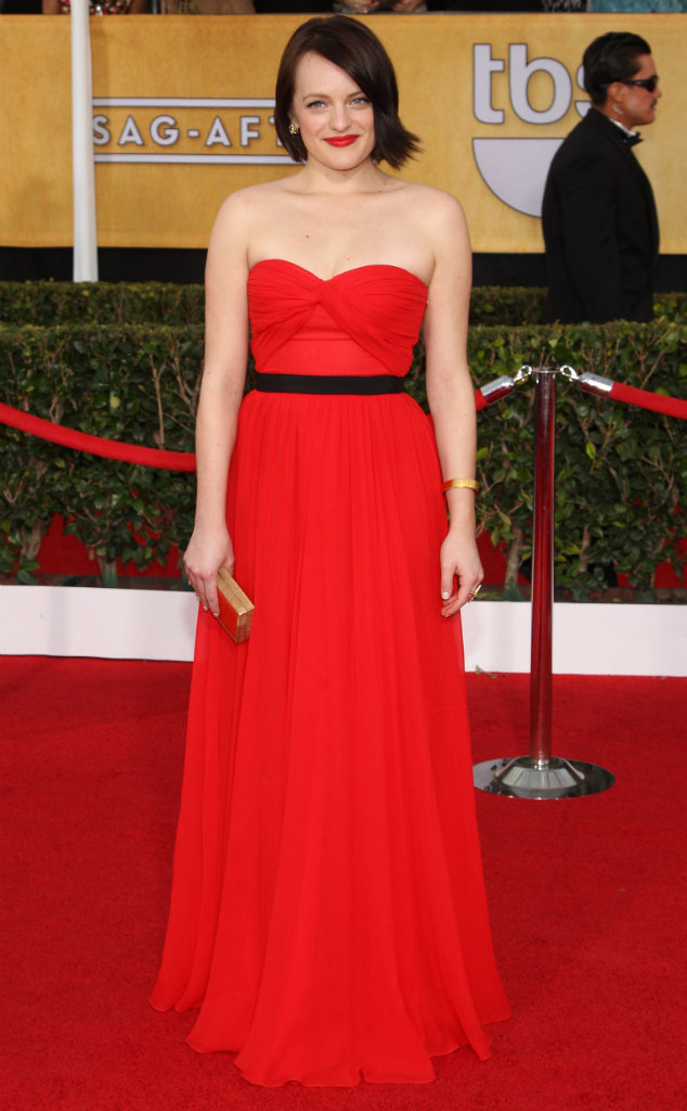 Elisabeth Moss in Michael Kors - SAG Awards 2014