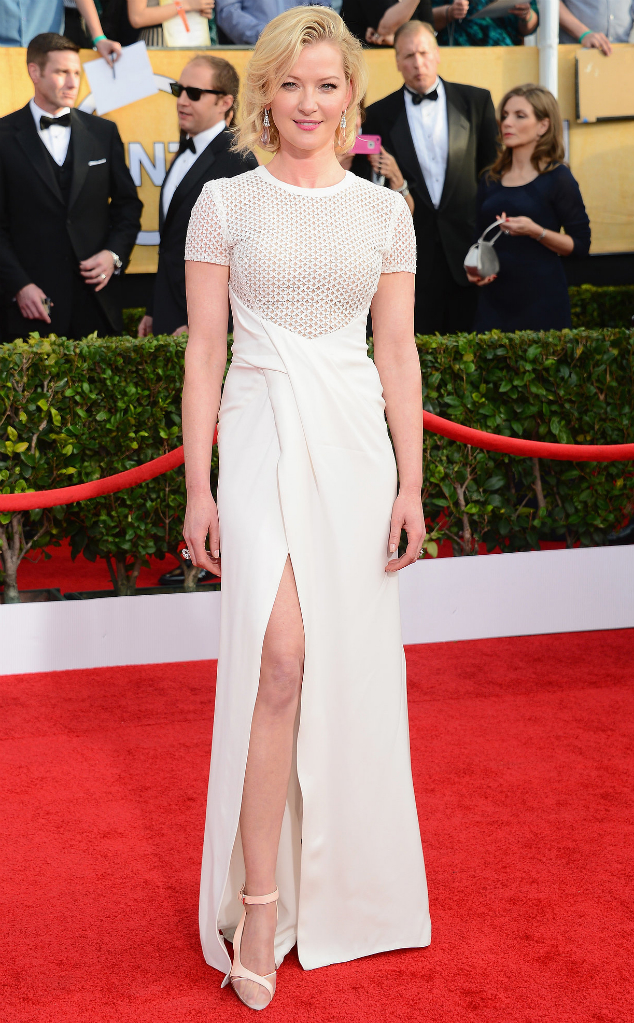 Gretchen Mol in J Mendel - SAG Awards 2014