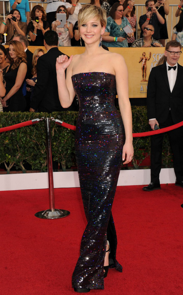 Jennifer Lawrence in Dior - SAG Awards 2014