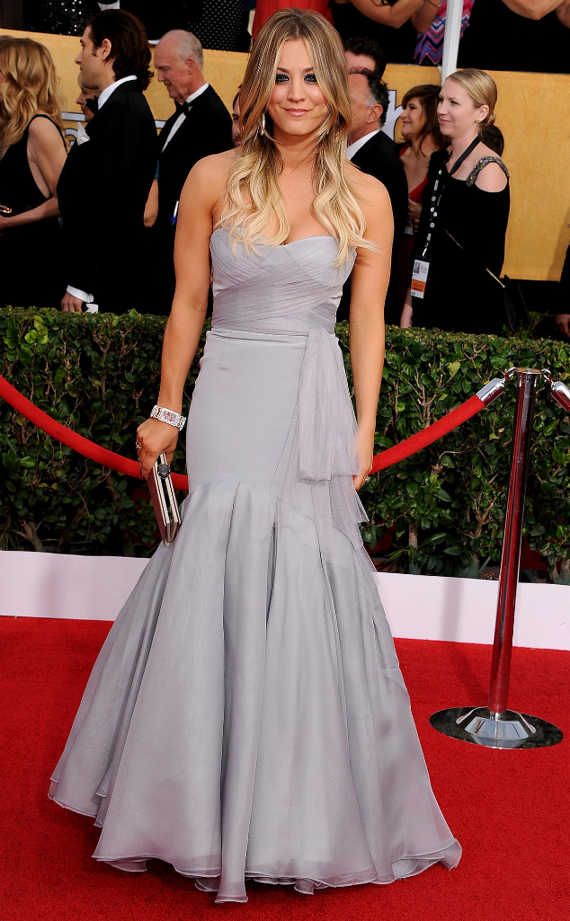 Kaley Cuoco in Vera Wang - SAG Awards 2014