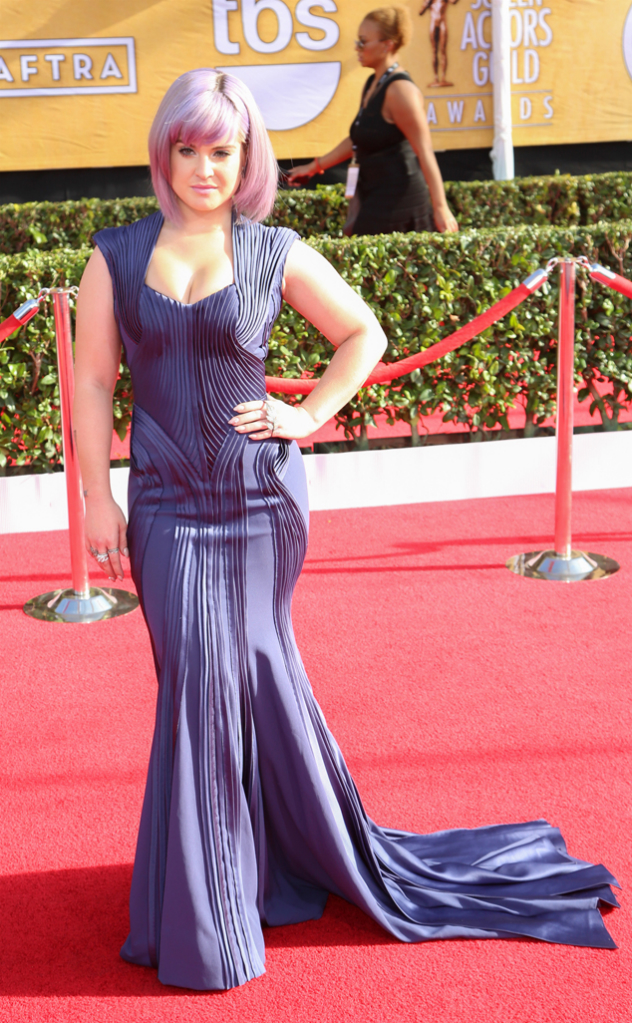 Kelly Osbourne in Zac Posen - SAG Awards 2014