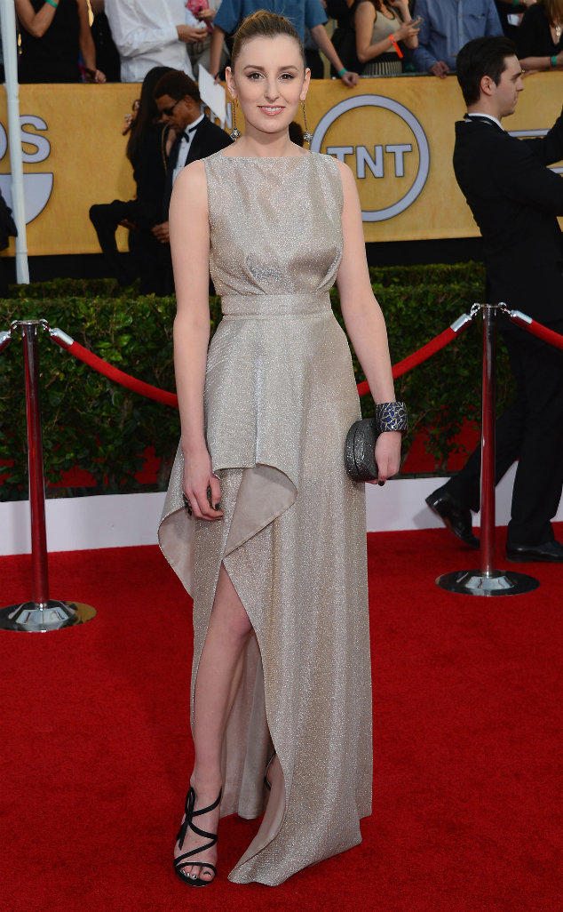 Laura Carmichael in Vionnet - SAG Awards 2014