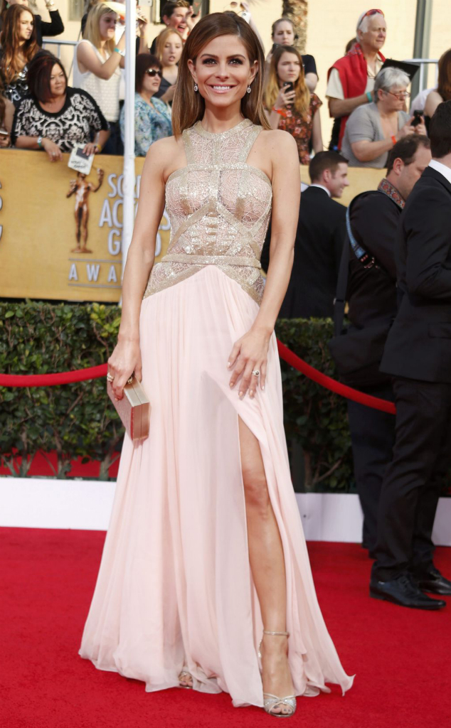 Maria Menounos in Rani Zakhem - SAG Awards 2014