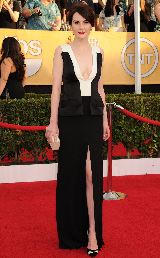 Michelle Dockery in J Mendel - 2014 SAG Awards