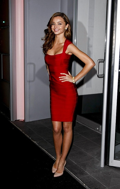Miranda Kerr - Little Red Dress
