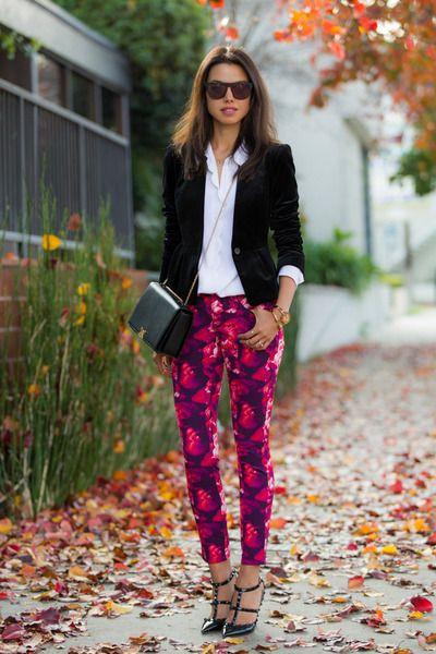Annabelle Fleur Peony Print Pants Viva Luxury