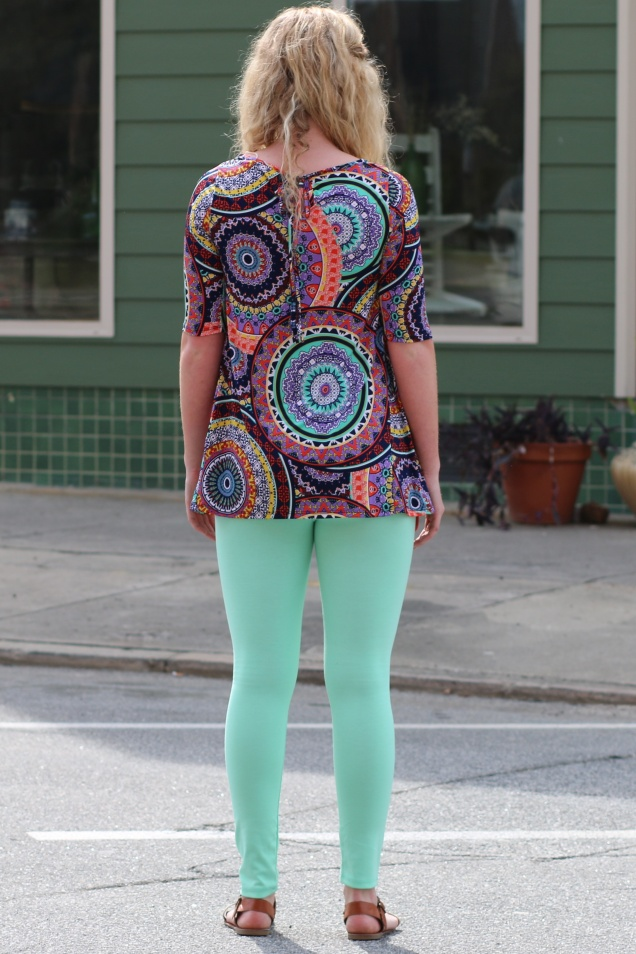 Wild Souls - Psychedelic Top & Mint Leggings - shopwildsouls.com