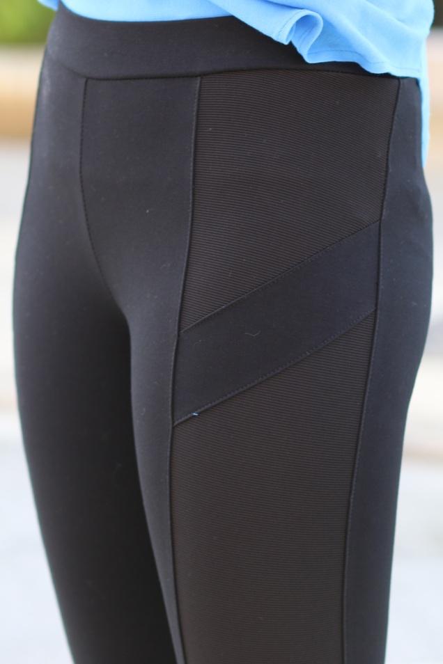 Wild Souls - Cerulean Blue Top w/ Tails & Black Paneled Pixie Pants - shopwildsouls.com