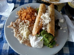 Palapa - Chicken Flautas