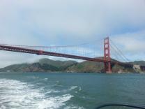 Sunny side of the Golden Gate Bridge