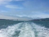 Golden Gate Bridge from the Ferry