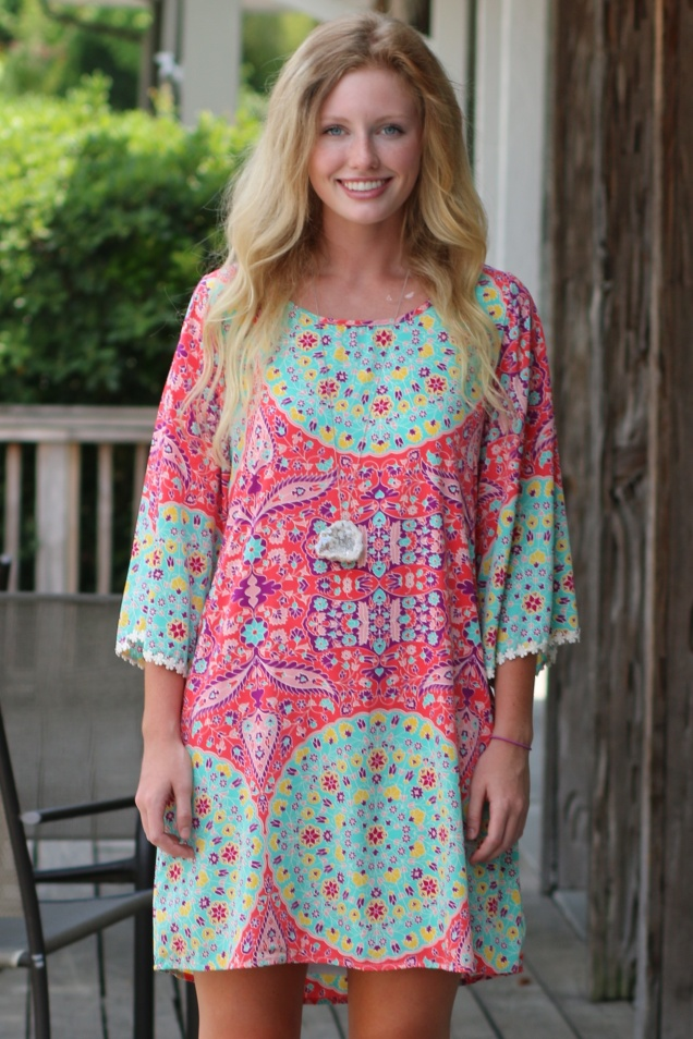 Wild Souls - Bonnaroo Baby Festival Dress & Druzy Crystal Necklace - shopwildsouls.com