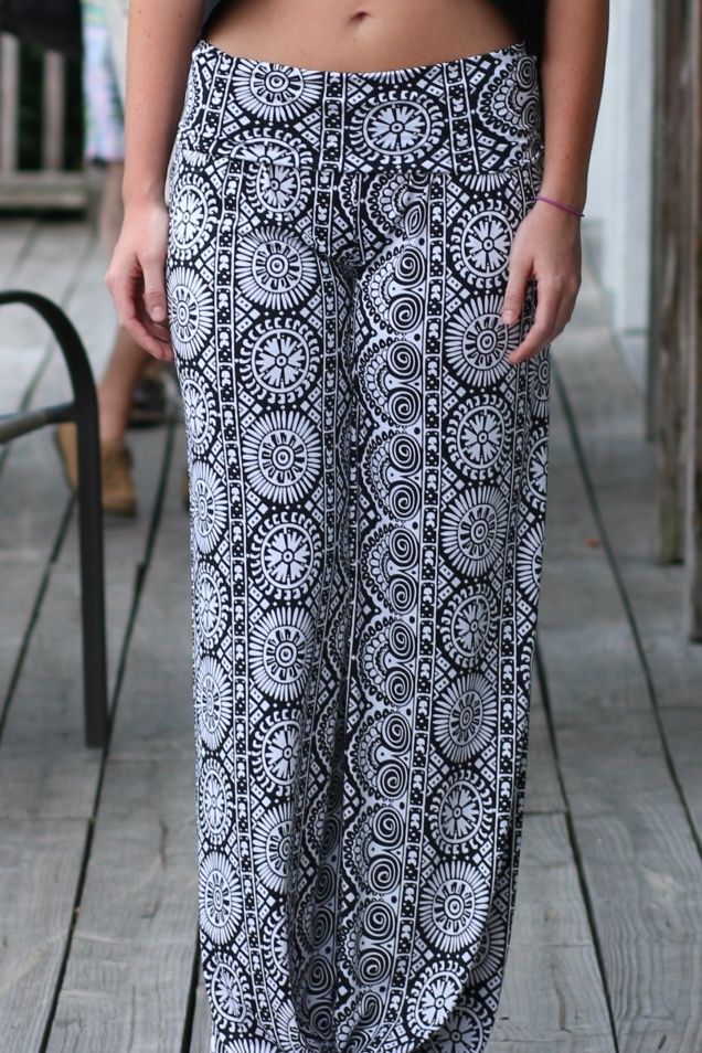 Biltmore Avenue Palazzo Pants & Perfect Crop Top