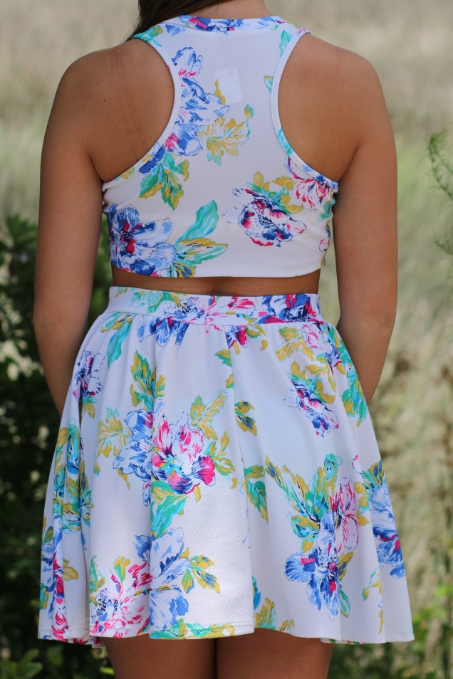 Wild Souls: Watercolor Skirt & Crop Set