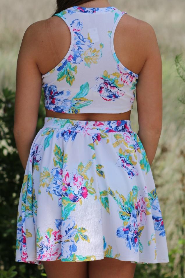 Wild Souls: Watercolor Skirt & Crop Set