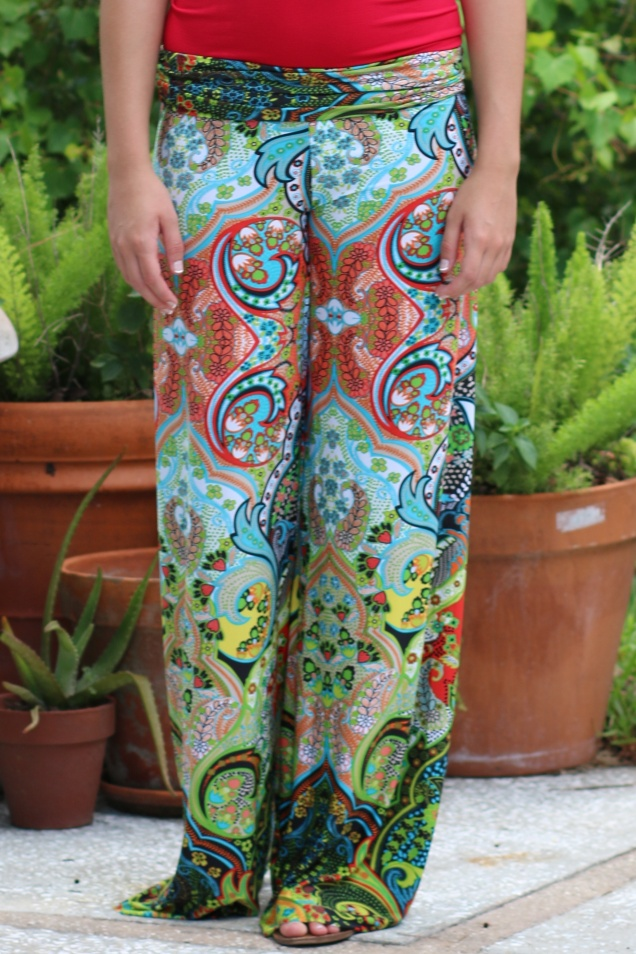 Wild Souls - Strawberry Fields Palazzo Pants