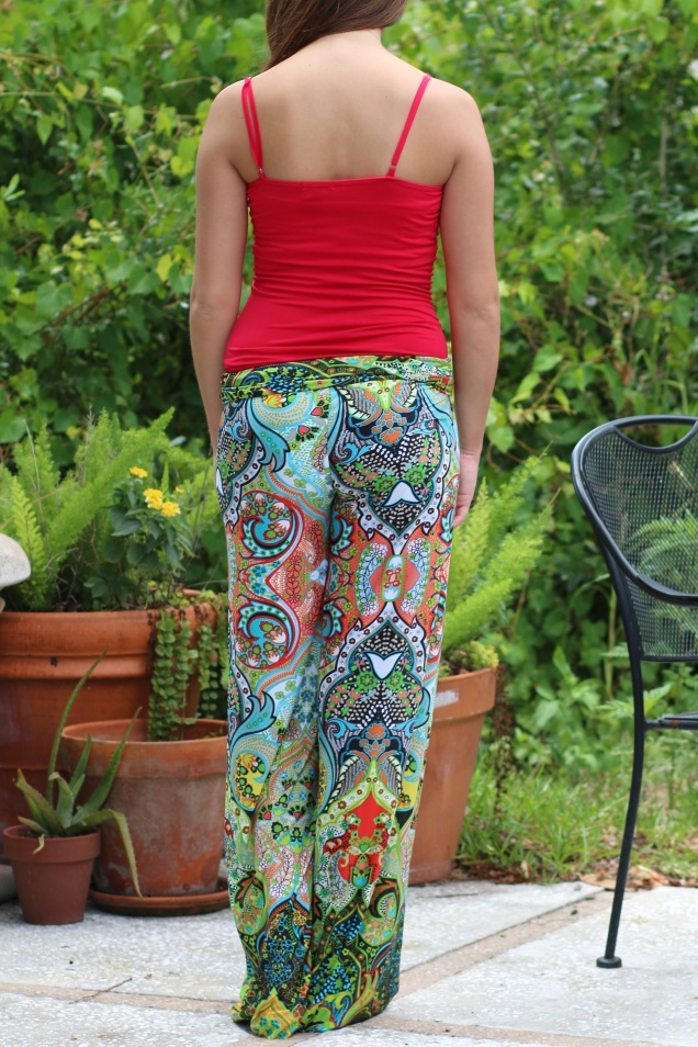 Wild Souls: Strawberry Fields Palazzo Pants