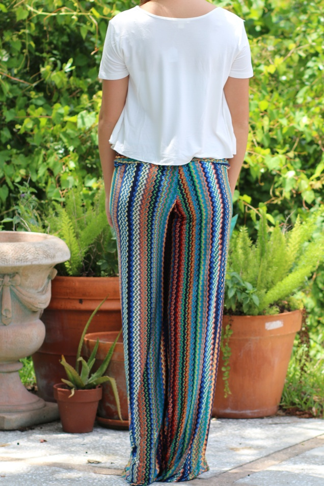Wild Souls: Mermaid City Palazzo Pants & Perfect Crop Top