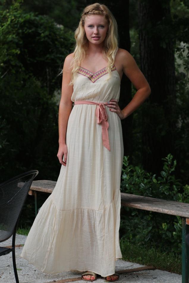 Wild Souls - Blushing Bohemian Maxi Dress - shopwildsouls.com