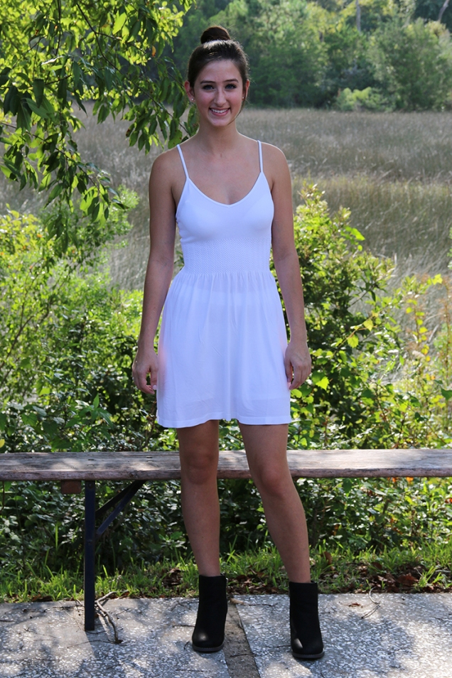 Wild Souls - White Slip Dress for Layering