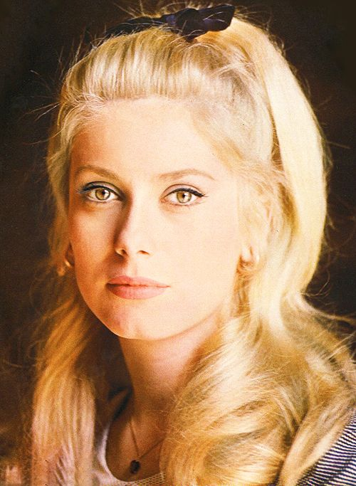 Catherine Deneuve 1960s French Hair