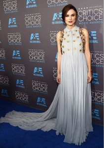 Keira Knightley in Delpozo at the Critics Choice Awards