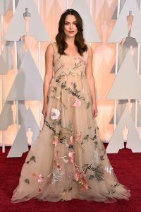 Keira Knightley in Valentino at the 87th Annual Academy Awards // 2015 Oscars Red Carpet