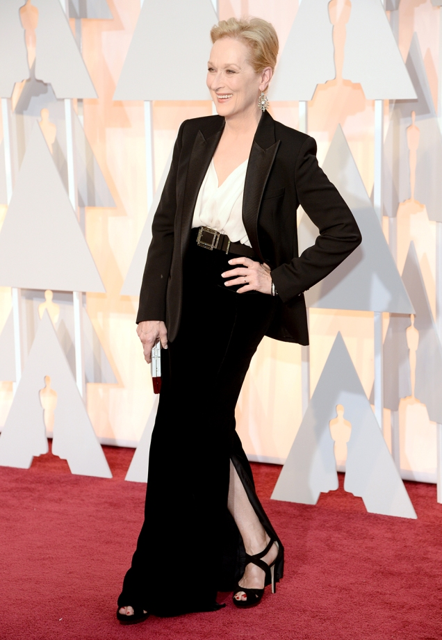 Meryl Streep in Lanvin at the 87th Annual Academy Awards // 2015 Oscars Red Carpet