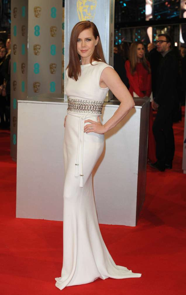 2015 BAFTAs Red Carpet Amy Adams in Lanvin