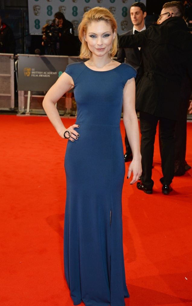 2015 BAFTAs Red Carpet: MyAnna Buring