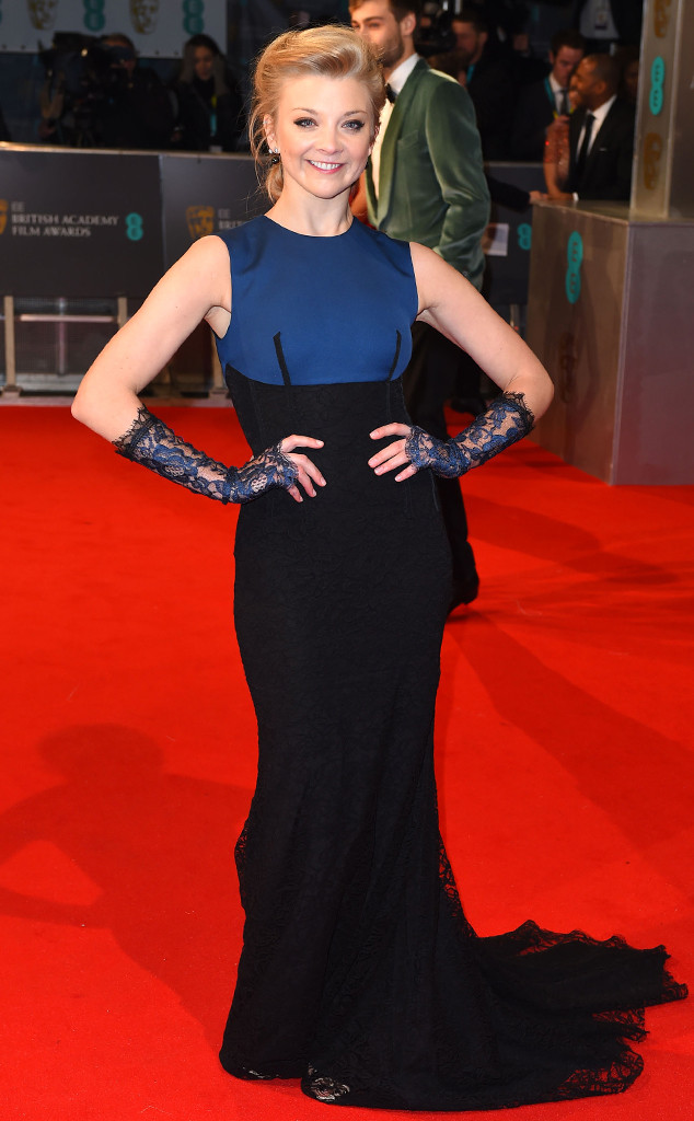 2015 BAFTAs Red Carpet Natalie Dormer