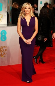 2015 BAFTAs Red Carpet Reese Witherspoon in Stella McCartney