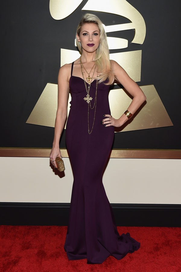 2015 Grammy Awards Red Carpet Bonnie McKee