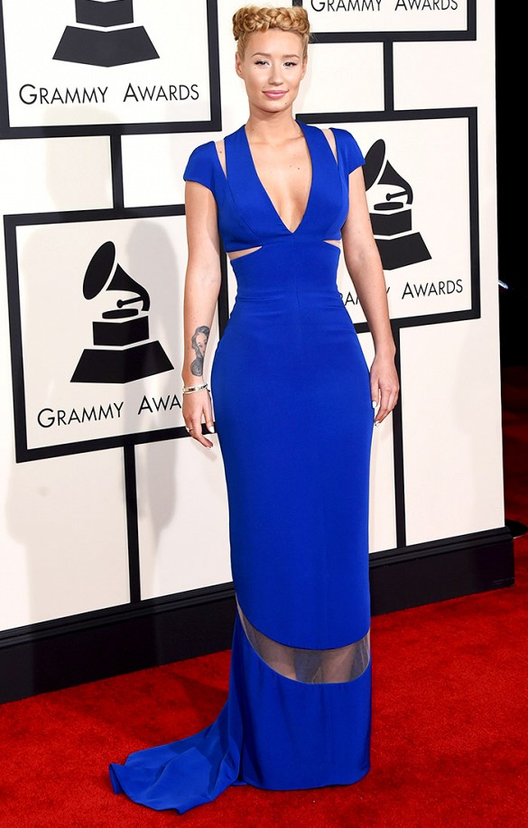 2015 Grammy Awards Red Carpet Iggy Azalea in Armani