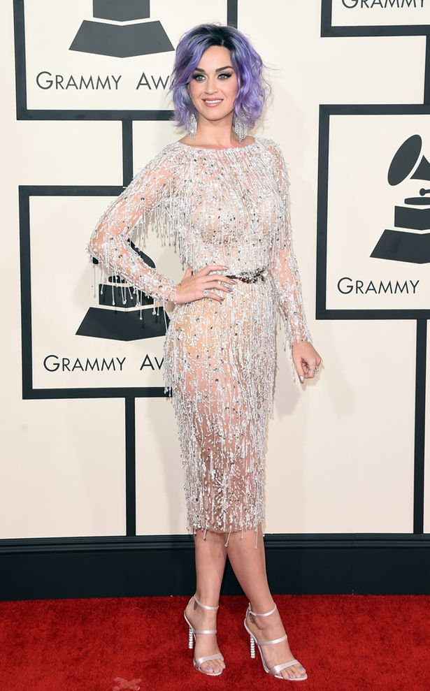 2015 Grammy Awards Katy Perry in Zuhair Murad