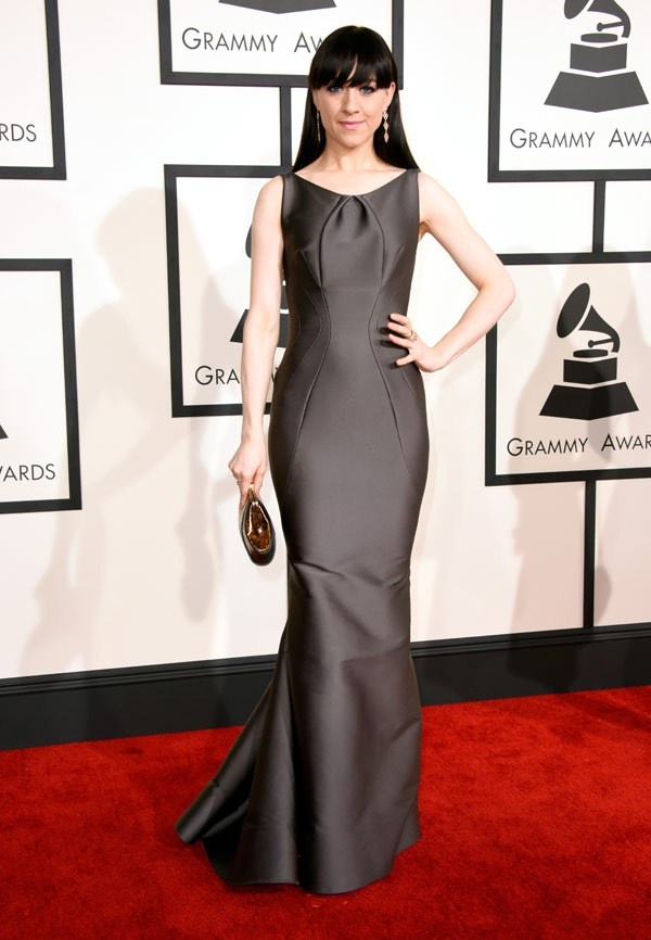 2015 Grammy Awards Red Carpet Lena Hall