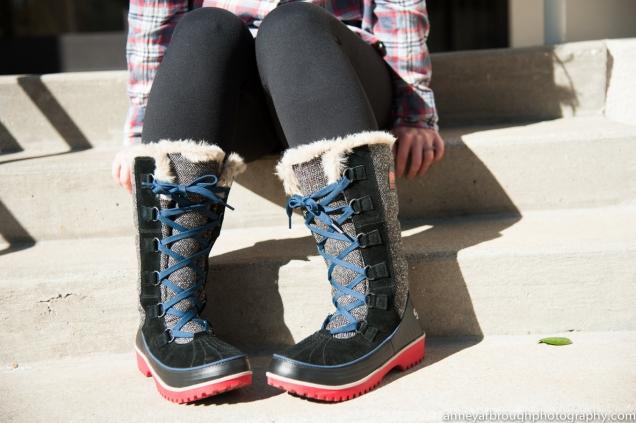 Wild Souls: Sorel Tivoli II High Herringbone Boots