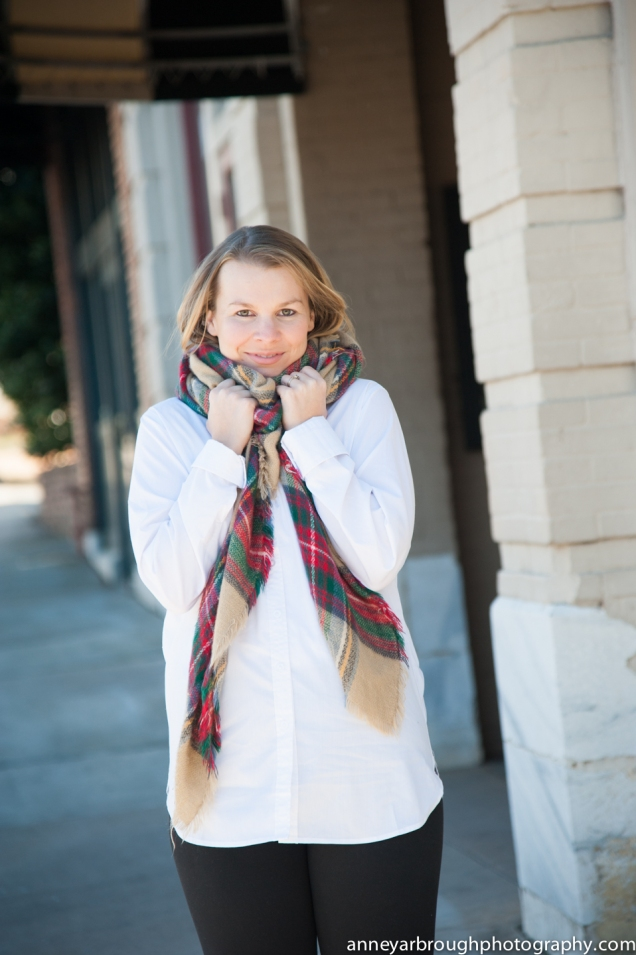 Wild Souls Blog: the hair tuck with blanket scarf, Michael Kors red rainboots, white button down tunic