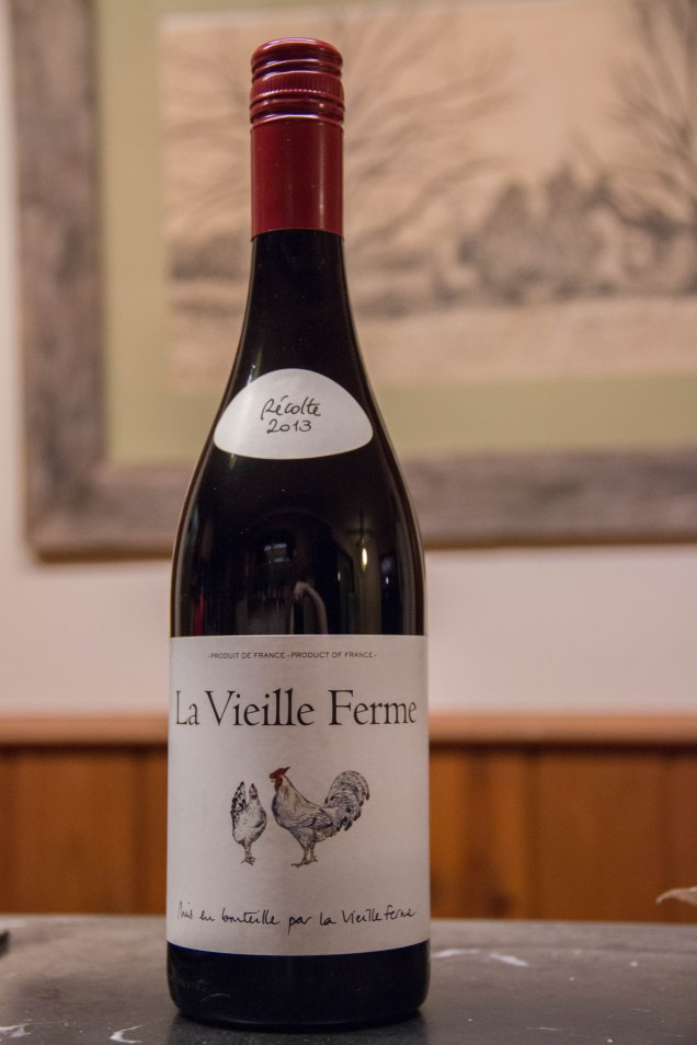 Red Wine // La Vielle Ferme from Perrin Vineyards